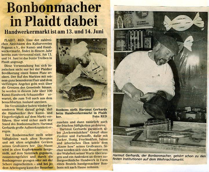 Bonbonmacher - Presse