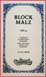 Bonbonmacher - Blockmalz
